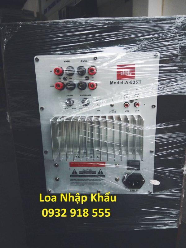 Loa sub karaoke jbl 835 II thiết kế đẹp