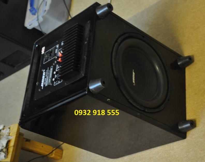 Mặt sau của Loa Sub karaoke Bose 1200