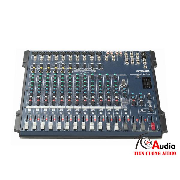 Bàn mixer Yamaha MG166CX hõ trợ 12 đường line chuyên dùng cho dàn âm thanh chuyên nghiệp