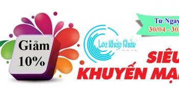 sieu khuyen mai - loa nhap khau
