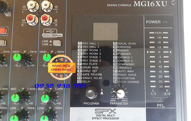 Ban Mixer MG 12XU chuyen nghiep