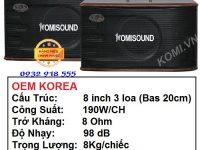 Loa karaoke KM-106