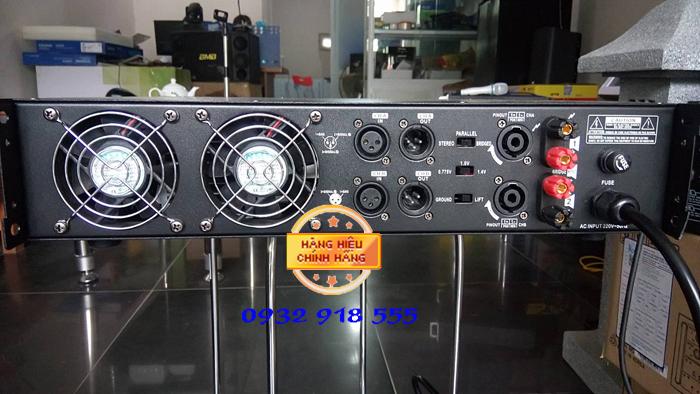 Mat sau cuc day Crest Audio pro 520