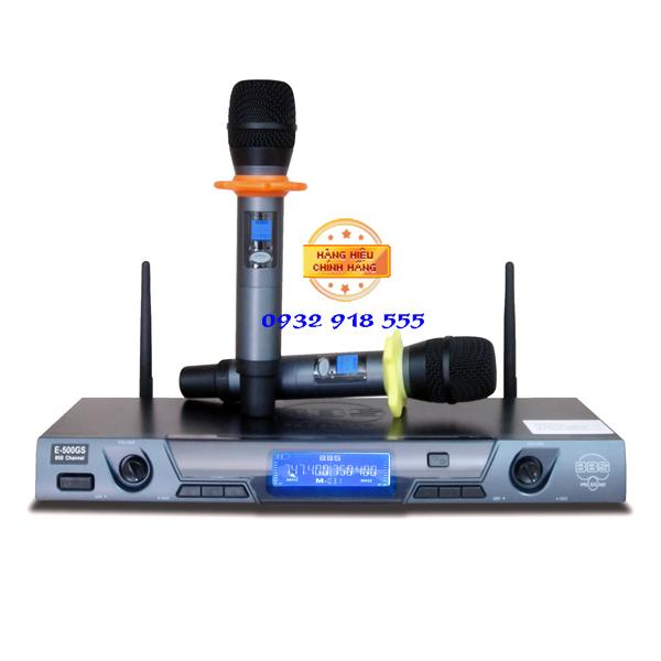 Micro khong day BBS E 500GS