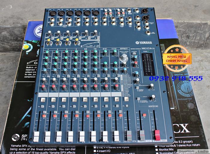 Mixer MG 124CX thuong hieu