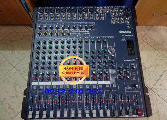 Mixer Yamaha MG 166CX thiet ke dep