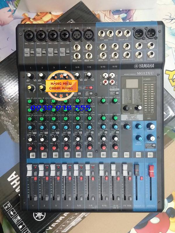 Mixer yamaha MG 12XU chuyen nghiep