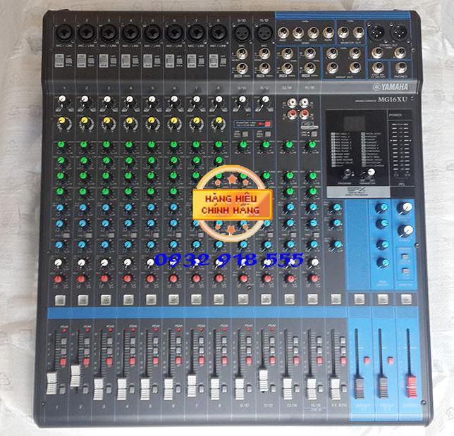 Mixer yamaha MG16XU hang moi
