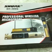micro-khong-day-shure-SH-300G