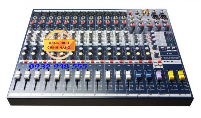 Mixer soundcraf EFX12