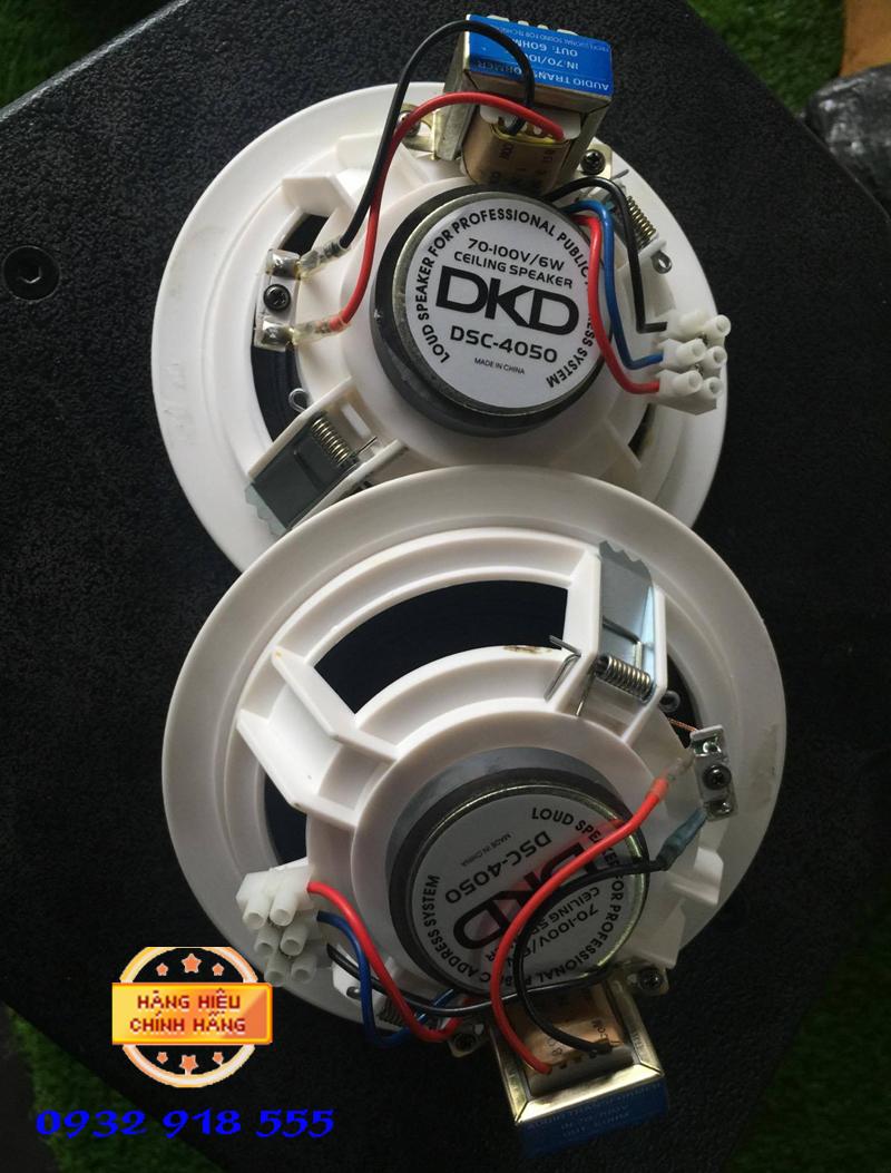 Loa am tran DSC 4050 chuan