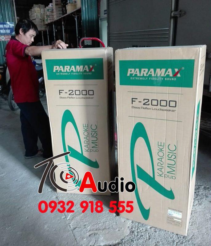 Loa paramax F2000