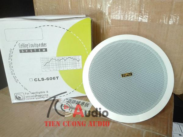 Loa âm trần APU CLS 606T chuyên dùng cho nghe nhạc shop thời trang