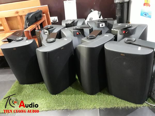 Loa hộp treo tường APU SP60 chuyên lắp cho phòng GYM âm bass khỏe