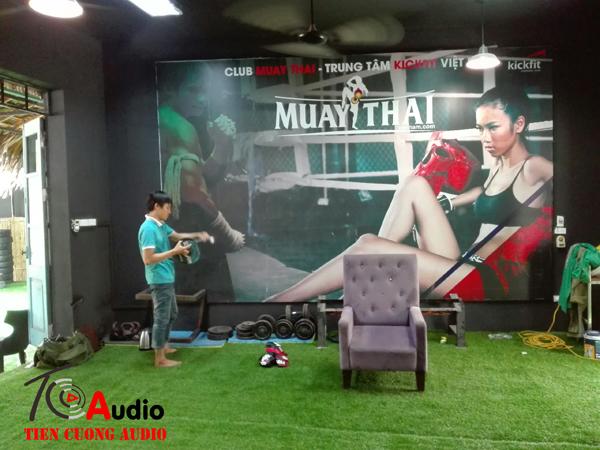 Tiến Cường chuyên setup thi công các hệ thống âm thanh phòng gym chuyên nghiệp toàn quốc