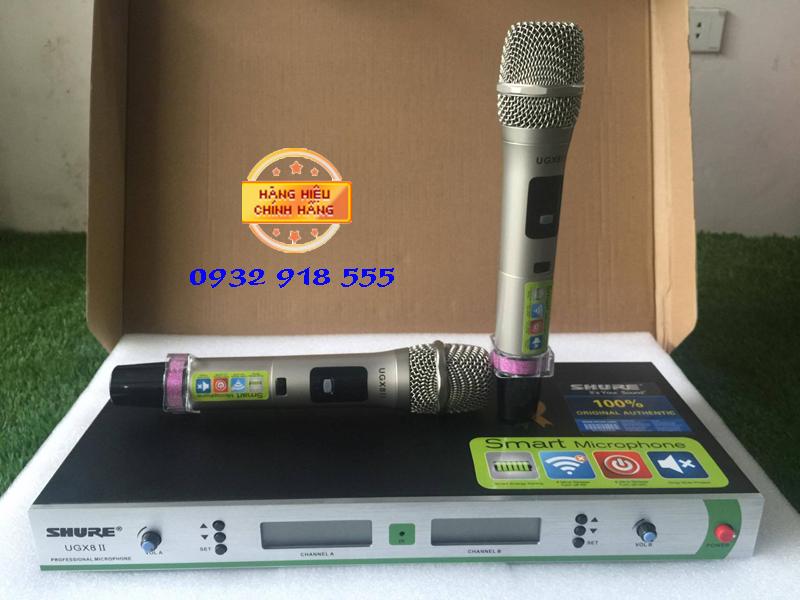 Micro-karaoke-shure-UG8-II
