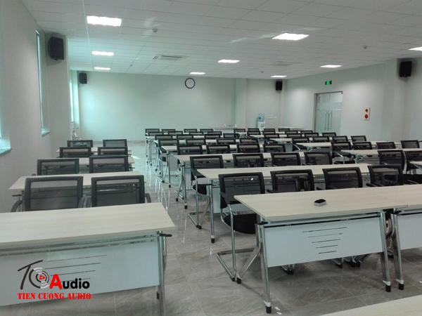 Áp dụng cấu hình hệ thống âm thanh phòng họp thông thường đối với công ty sunjin Hà Nam