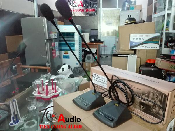 Micro đại biểu APU 8052B hút âm thanh cực tốt không gây hú rít