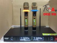 Micro shure UGX9 III chat am thanh hay