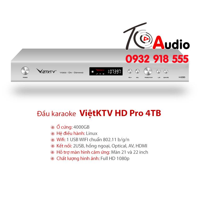 dau viet KTV HD Plus 4tb moi