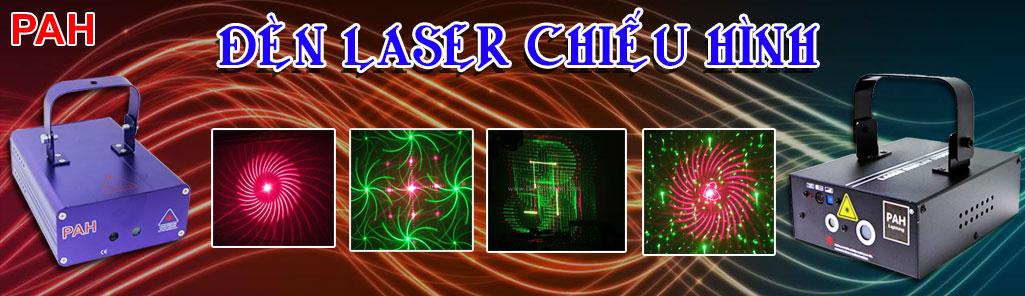 den laser chieu hinh
