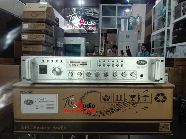 Amply APU USB 150W dùng cho hệ thống loa âm trần nghe nhạc nhẹ cực hay