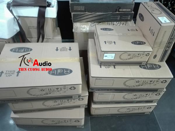 Amply APU USB 150W vỏ thùng đẹp, chắc chắn