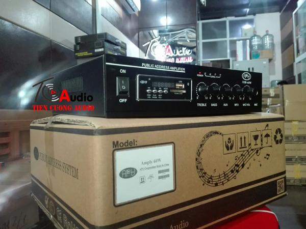 Amply APU USB 60W dùng cho loa nghe nhạc nhẹ