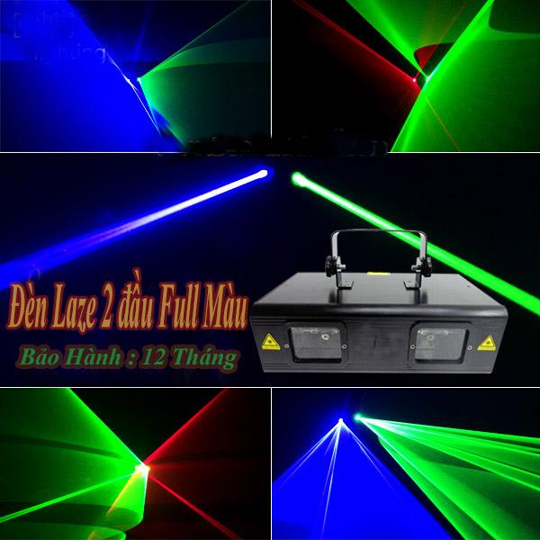 Đèn Laze 2 đầu Full Màu