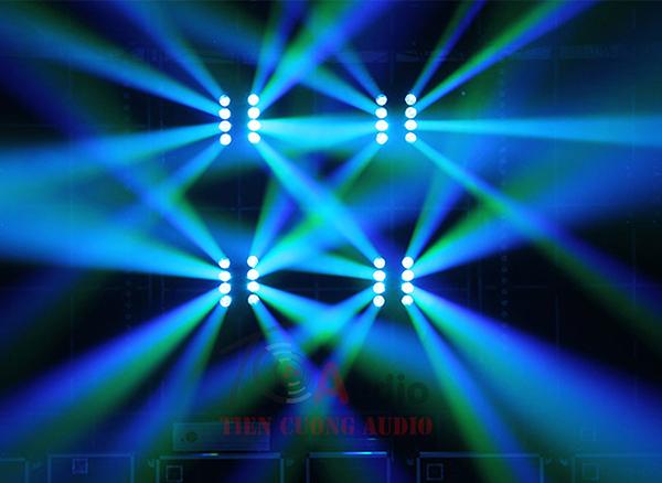 Đèn Led Moving Nhện 8 Bóng