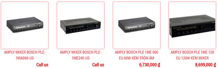 Amply thông báo Bosch mới chất lượng tốt