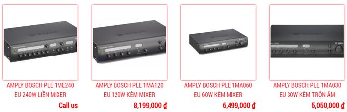 Amply thông báo Bosch