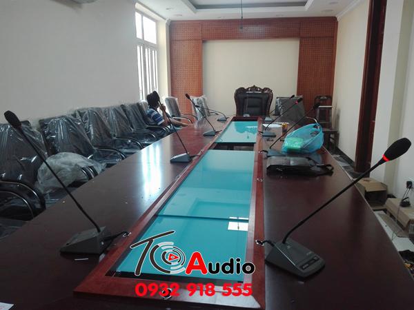 Dự án âm thanh hội thảo cho bộ công an
