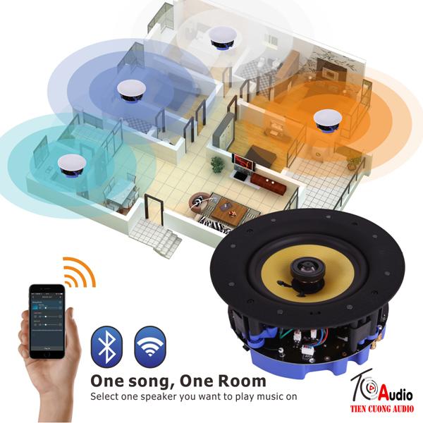 Hệ thống loa âm trần wifi