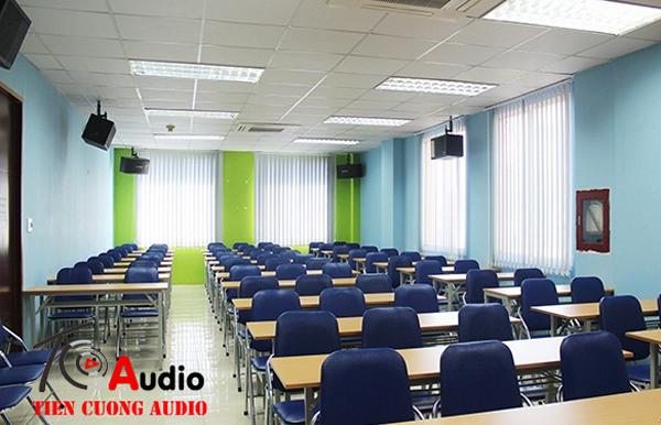 Lắp loa karaoke cho hệ thống âm thanh phòng học