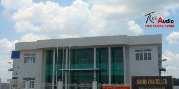 Công ty sunjin lắp hệ thống hội thảo, phòng họp