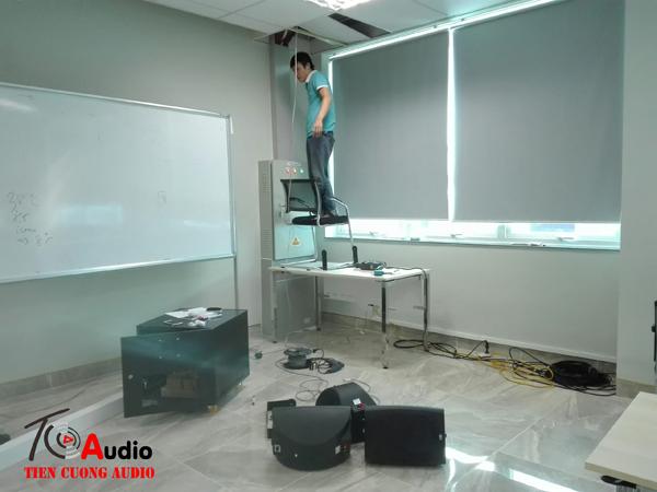 Lắp hệ thống hội thảo, hệ thống âm thanh phòng họp
