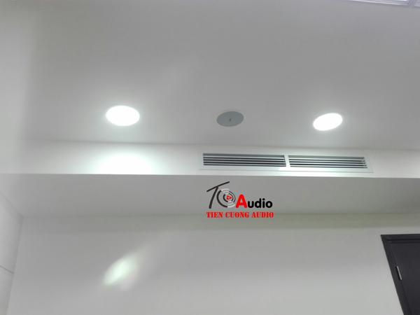 Lắp loa âm trần APU cho phòng hội thảo tực tuyến