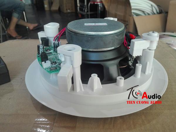 Loa âm trần Bluetooth APU CS20B có thiết kế củ bass to chuyên dùng cho nghe nhạc