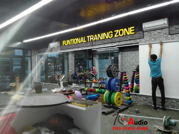 Âm thanh phòng gym tại hà nội tiêu chuẩn nhất
