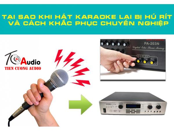 Cách chống hú micro khi hát karaoke chuyên nghiệp nhất