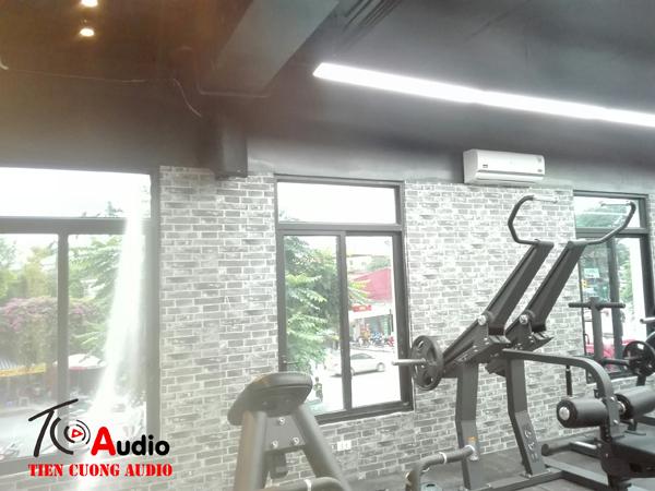 Loa phòng gym bass khỏe âm thanh hay sôi động