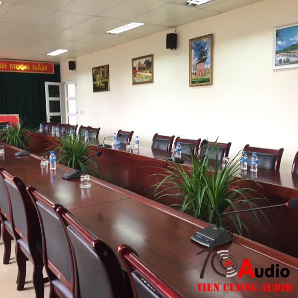hệ thống âm thanh phòng họp chuyên nghiệp