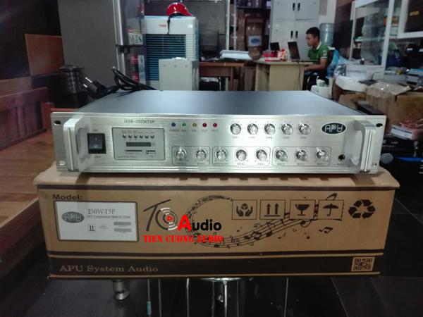 Amply APU 150W phân 5 vùng điều chỉnh âm lượng từng vùng