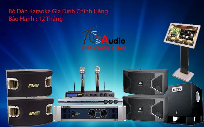 Lắp đặt dàn âm thanh karaoke gia đình đỉnh cao nhất hiện nay