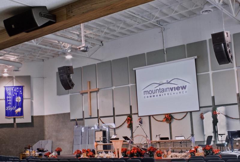 Lắp dàn aray, loa hội trường cho nhà thờ tiêu chuẩn