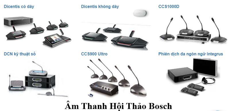Hệ thống âm thanh phòng họp Bosch