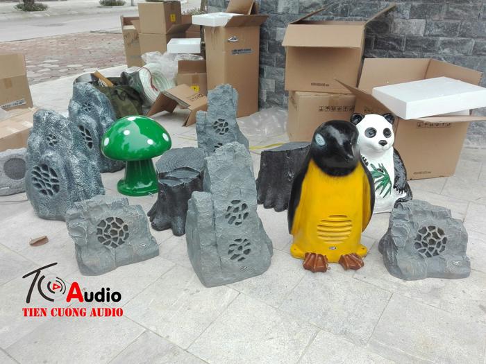 Một số mẫu loa đá độc đáo nhất hiện nay dùng cho quán cafe sân vườn