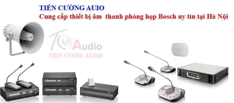 Tiến Cường Audio chuyên cung cấp các hệ thống âm thanh phòng họp bosch uy tín chất lượng tại Hà Nội