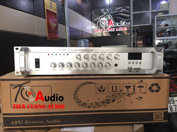 Amply APU LS350 phân 6 vùng, điều chỉnh âm lượng từng vùng